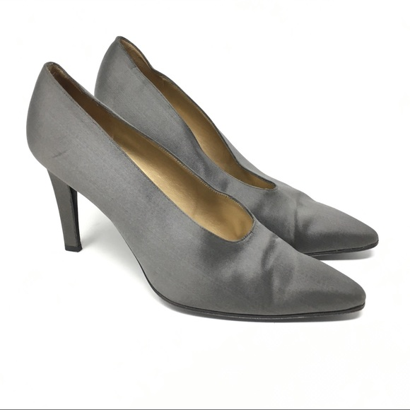 c74c62294 Yves Saint Laurent Shoes | Vintage Satin Pumps Ysl | Poshmark